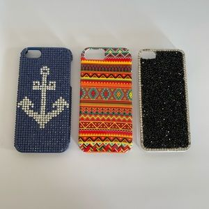 Lot of 3 iPhone 5/5s Cases